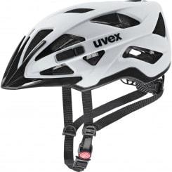 Uvex active cc Fahrradhelm inkl. Plug-In LED