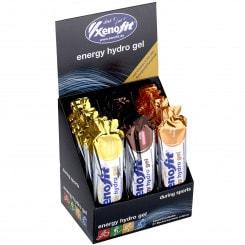 Xenofit Energy Hydro Gel Energie-Gel 3-fach sortiert Box (21 x 60 ml)