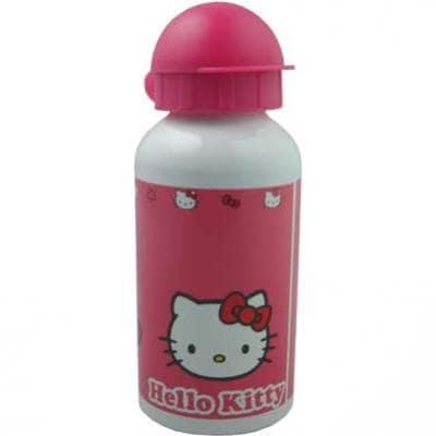 Bike Fashion Kindertrinkflasche Hello Kitty Alu (400 ml)