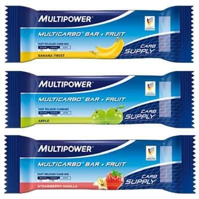 Multipower Riegel Multicarbo + Fruit (50 g)