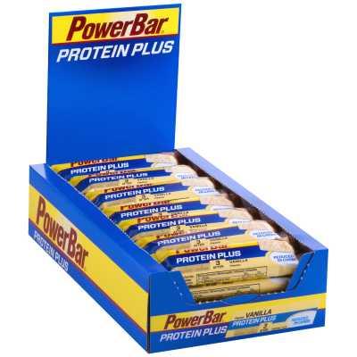 Powerbar Riegel Protein Plus Reduced in Carbs Box (30 x 35 g)