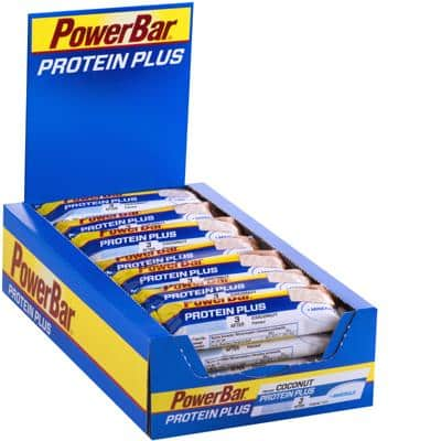 Powerbar Riegel Protein Plus + Minerals Box (30 x 35 g)