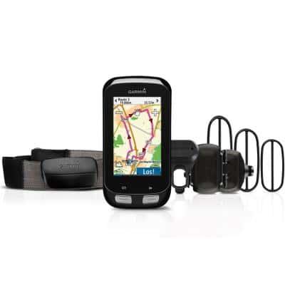 Garmin GPS-Fahrradcomputer Edge 1000 Bundle