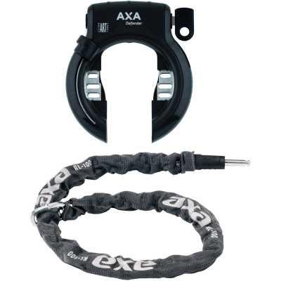 AXA Victory Rahmenschloss inkl. Kette 100 cm