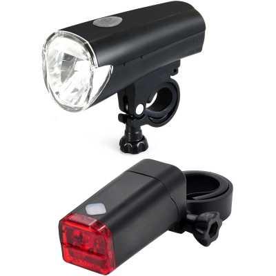 Centano Neon Fahrradbeleuchtung Set