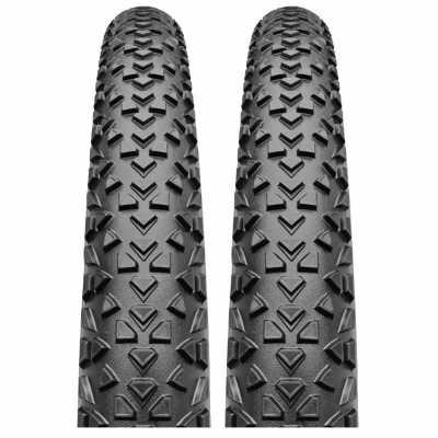 Continental Race King RaceSport 2x MTB-Reifen (27.5 x 2.2) + 2x Schlauch