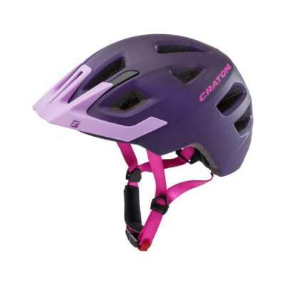 cratoni maxster pro kinder fahrradhelm purple gr e s m 51 56 cm online shop zweirad stadler. Black Bedroom Furniture Sets. Home Design Ideas