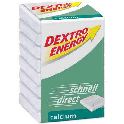 Dextro Energy Calcium Würfel Traubenzucker (46 g)