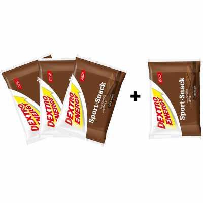 Dextro Energy Sport-Snack Riegel (40 g) 3+1