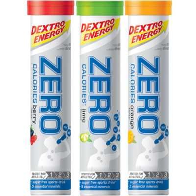 Dextro Energy Zero Calories Elektrolytgetränk Brausetabletten (80 g)