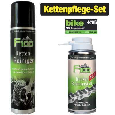 Dr. Wack F100 Kettenreiniger (75 ml) + Trockenschmierstoff (100 ml)