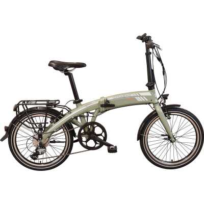 dynabike city blitz elektroklapprad e bike mudgreen. Black Bedroom Furniture Sets. Home Design Ideas