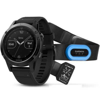 Garmin Fenix 5 Sapphire Performoer Bundle GPS-Multisportuhr
