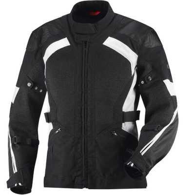 IXS Bel Air Textiljacke schwarz-weiß