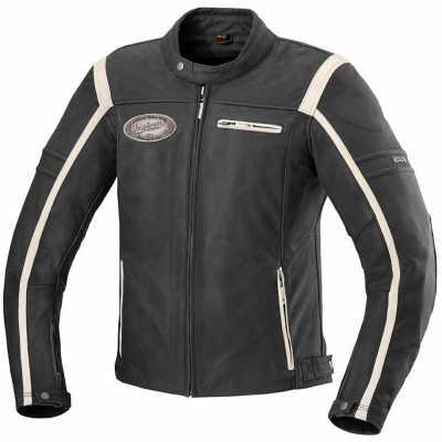 IXS Shawn Motorrad-Lederjacke Herren