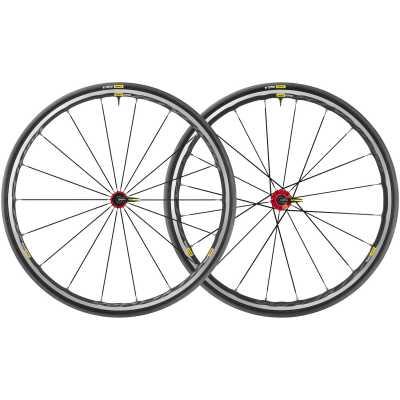 Mavic Ksyrium Elite UST Rennrad-Laufradsatz rot (28 Zoll)