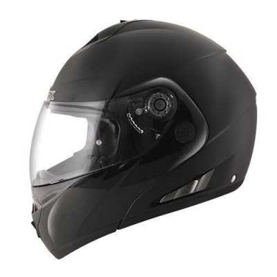 Shark Open Line Dual Black Klapphelm