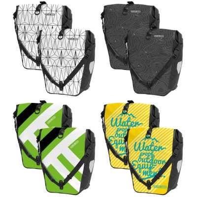 Ortlieb Back-Roller Design Fahrrad-Packtaschen (Paar)