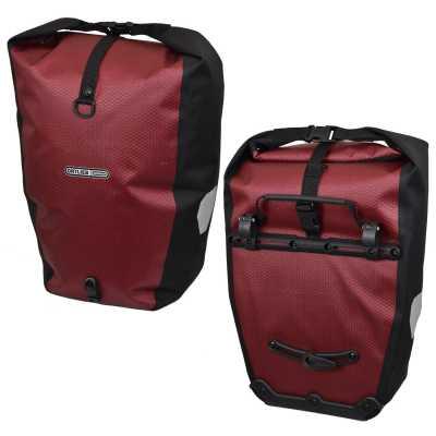 Ortlieb Back Roller Limited Edition Fahrrad-Packtaschen chili-schwarz (Paar)