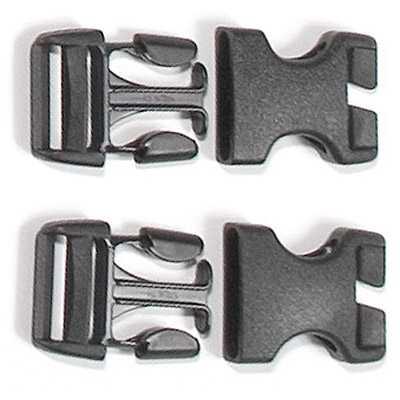Ortlieb Ersatzschnallen Stealth für Rack-Pack