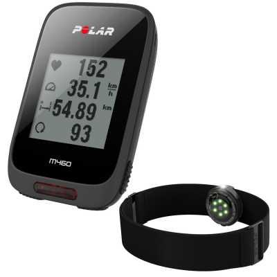 Polar M460 HR GPS-Fahrradcomputer inkl. OH1 Pulsarmband