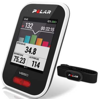 Polar GPS-Radcomputer/Pulsmesser V650 HR