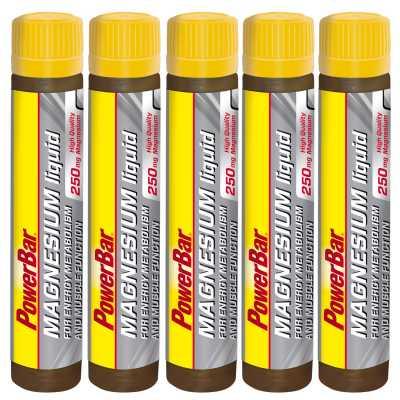 Powerbar Magnesium Liquid Ampulle Fünferpack (5 x 25 ml)