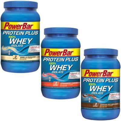 Powerbar Protein Plus 100 % Whey Isolate Eiweißpulver (570 g)