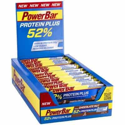 Powerbar Riegel Protein Plus 52 % Box (24 x 50 g)