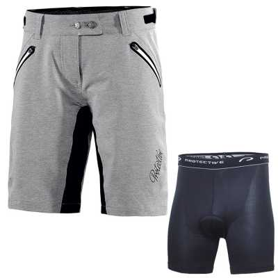 Protective Dakar Bike-Shorts Set Damen