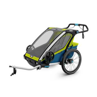 Thule Chariot Sport 2 Kinderanhänger Chartreuse-Mykonos