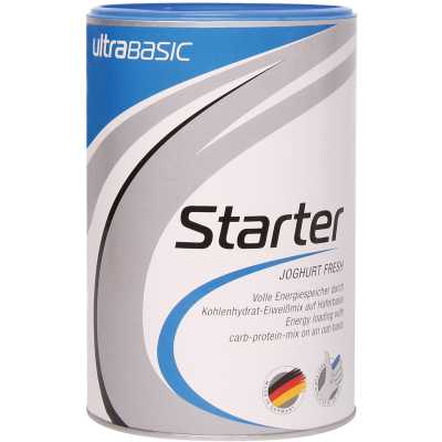 Ultrasports Ultrabase Starter Kohlenhydrat-Eiweiß-Getränkepulver Dose (500 g)