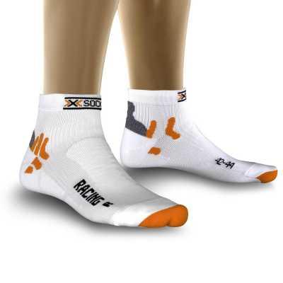 X-Socks Radsocke Street Biking, weiß
