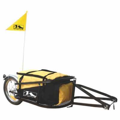 M-Wave Einrad-Gepäck-Anhänger