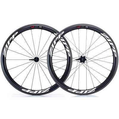 Zipp 303 Firecrest Carbon Clincher Rennrad-Laufradsatz (28 Zoll) Decals weiß