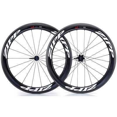 Zipp 404 Firecrest Carbon Clincher Rennrad-Laufradsatz (28 Zoll) Decals weiß