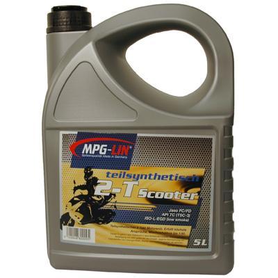 Mpg-lin Motorenöl teilsynthetisch T-2 Scooter (5 Liter)