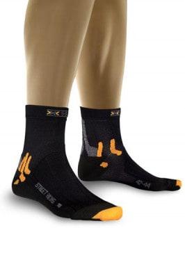 X-Socks Radsocke Street Biking, schwarz
