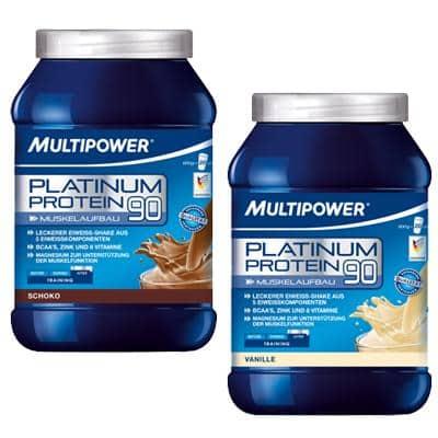 Multipower Shake-Pulver Platinum Protein 90 (600 g)
