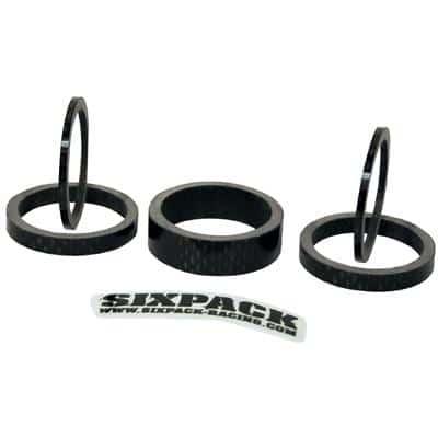 Sixpack Spacer-Set Carbon