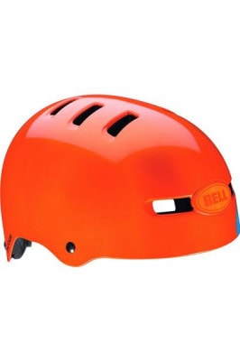 Bell BMX-Helm Faction, orange sugar skull Größe L(58-63cm)