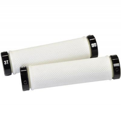 3T Grips Pro White/Black MTB-Griffe