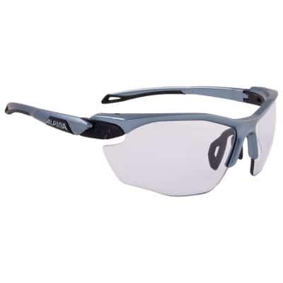 alpina twist five hr vl fahrradbrille titan schwarz