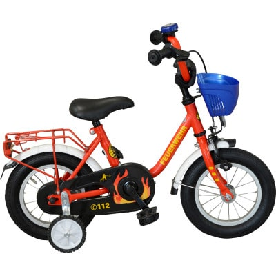 "Streety Feuerwehr Kinderrad 12"""