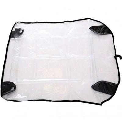 Croozer Regenverdeck für Kinderanhänger Kid und Plus for 2 (ab Modelljahr 2014)