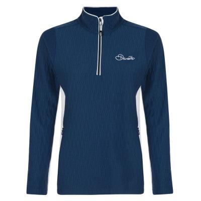 3ae93a3e5a1524 Dare 2b Dilatant Core Stretch Shirt Damen blau-weiß