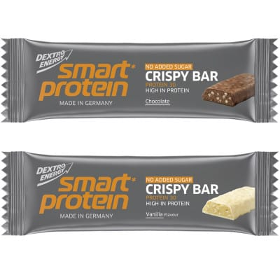 Dextro Energy Smart Protein Crispy Bar Eiweiß-Riegel Box (15 x 45 g)