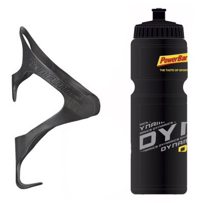 Dynamics Carbon-Flaschenhalter + Powerbar Trinkflasche (750 ml)