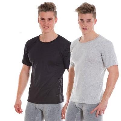 DYNAMICS Doppelpack Kurzarm-Shirts Herren