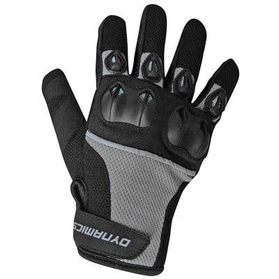Dynamics Motorradhandschuh Textil schwarz-grau